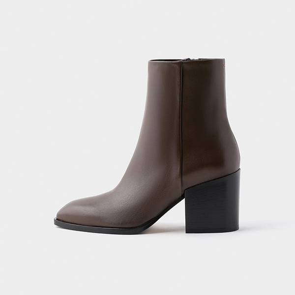 Aeyde Leandra Ankle Boot Moka