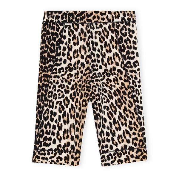 Ganni Boxer Leopard